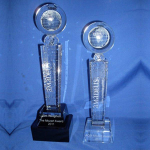 Crystal Trophies